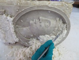 Restauration de sculptures antiques en marbre