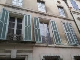 Restauration d'une façade en pierre de taille