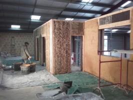 Création de bureaux pour l'association Archeomed