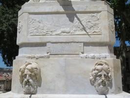 Restauration de la Fontaine aux licornes – Montpellier