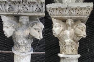 NETTOYAGE DU CHAPITEAU TETRAMORPHE ET DE LA STATUETTE DE CHRIST DE L'EGLISE ST BLAISE