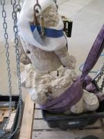 Restauration de la Tritonesse de Briançon