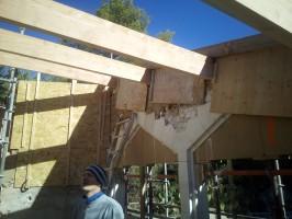 Agrandissement d'une maison en matériaux écologique