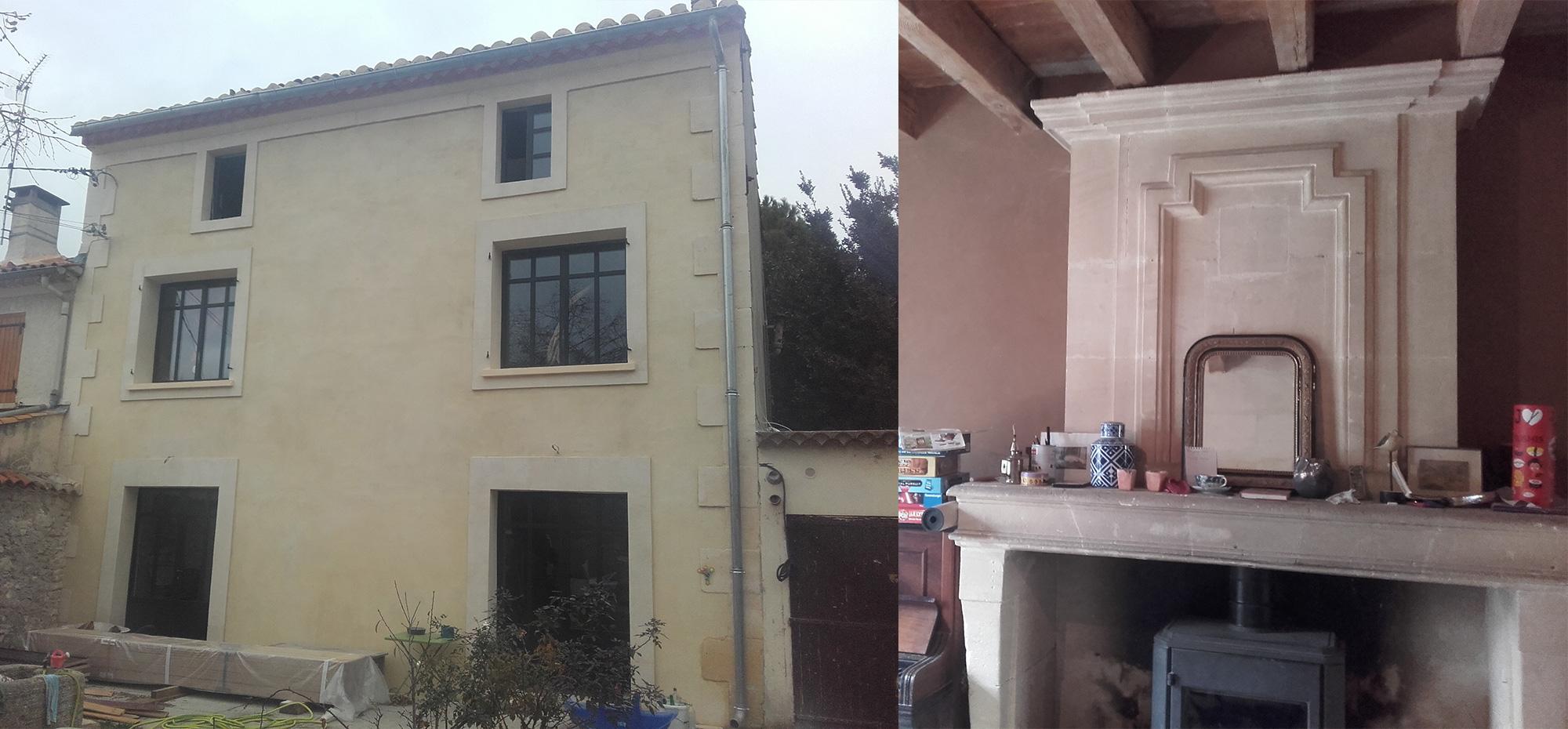 Restauration et isolation d'une maison avec des matériaux et des techniques écologique