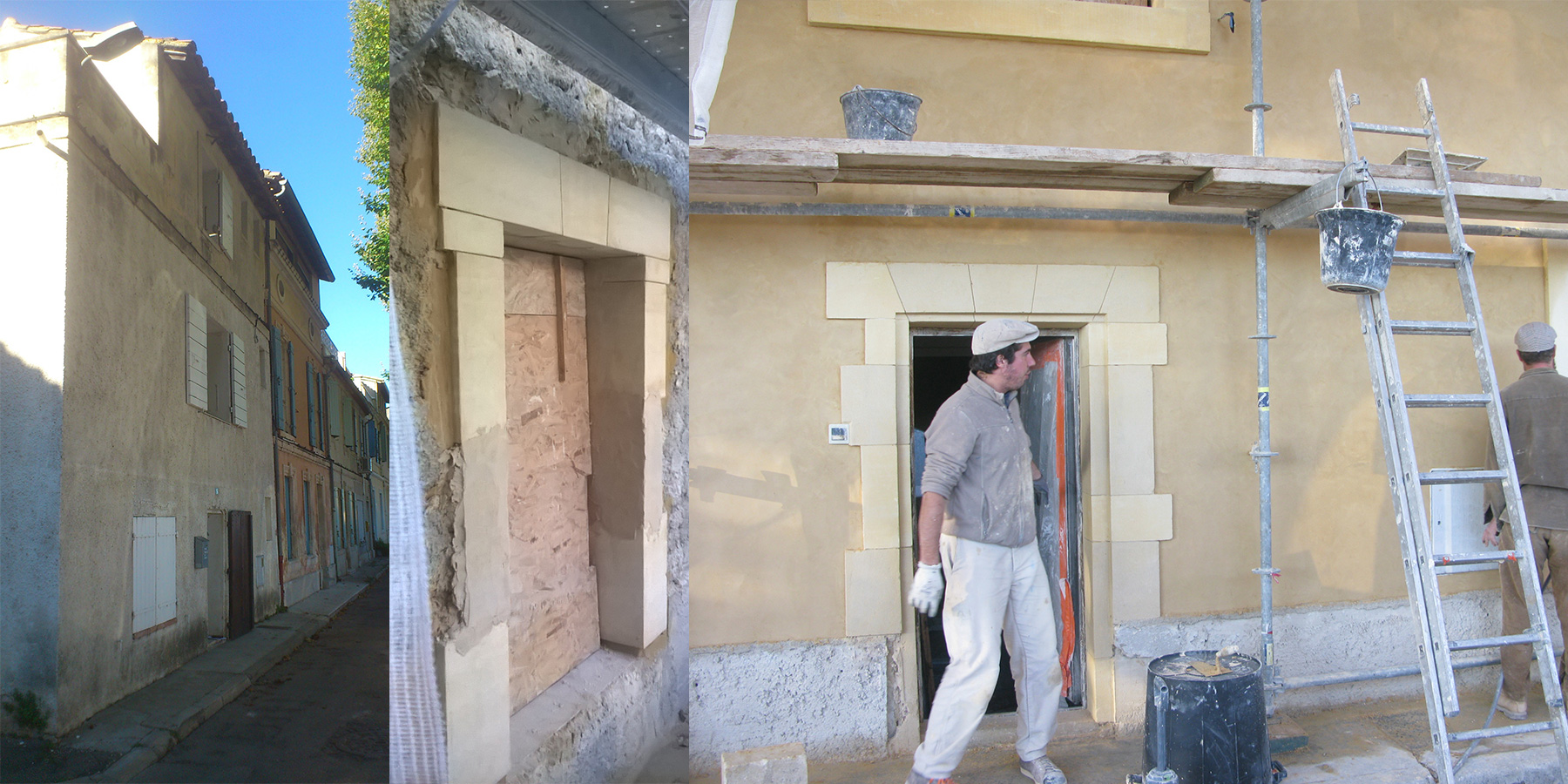 Restauration d'une maison