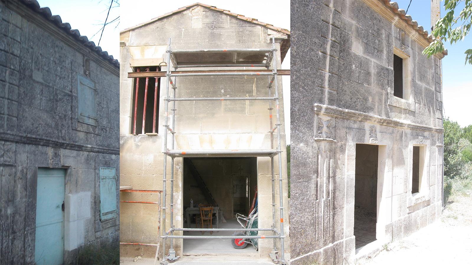 Restauration d'un ancien prieuré