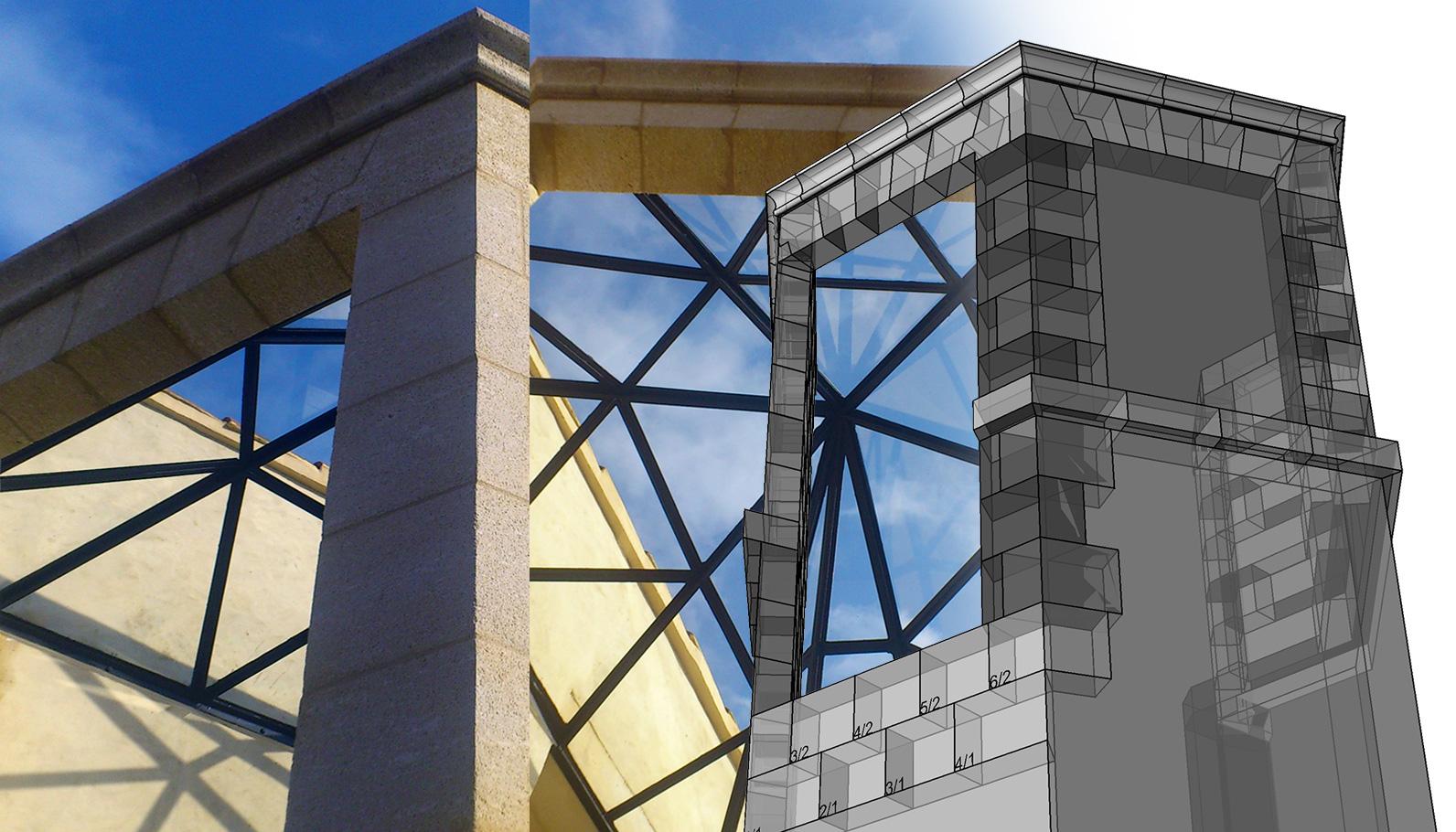 Extension d'une tour pour une verrière