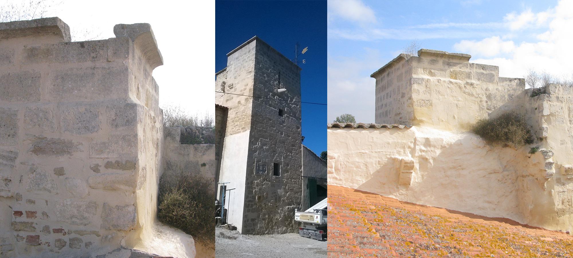 Restauration et création d'une tour médiévale